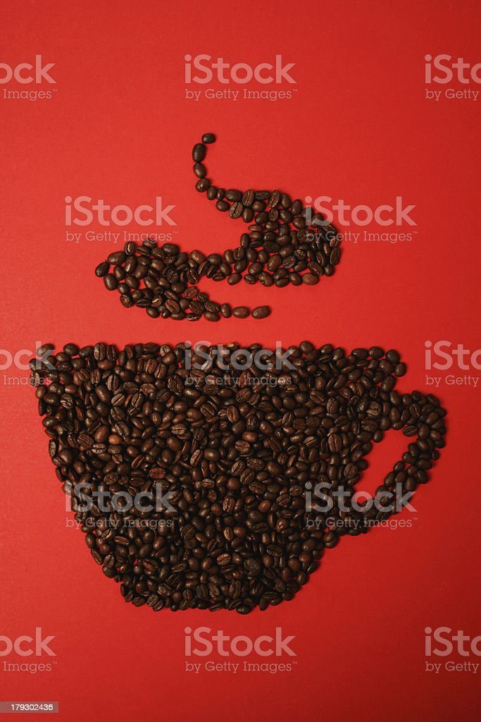 flavour in a cup royalty-free stock photo