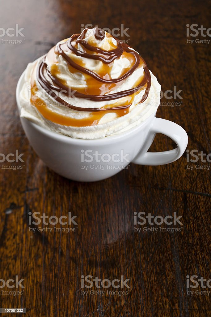Flavoured coffee royalty-free stock photo