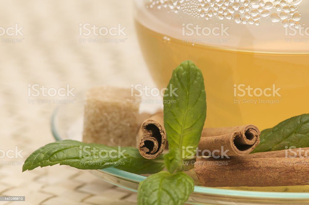 flavoured tea royalty-free stock photo