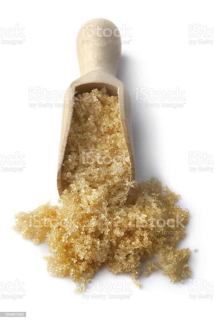 Flavouring: Brown Sugar royalty-free stock photo
