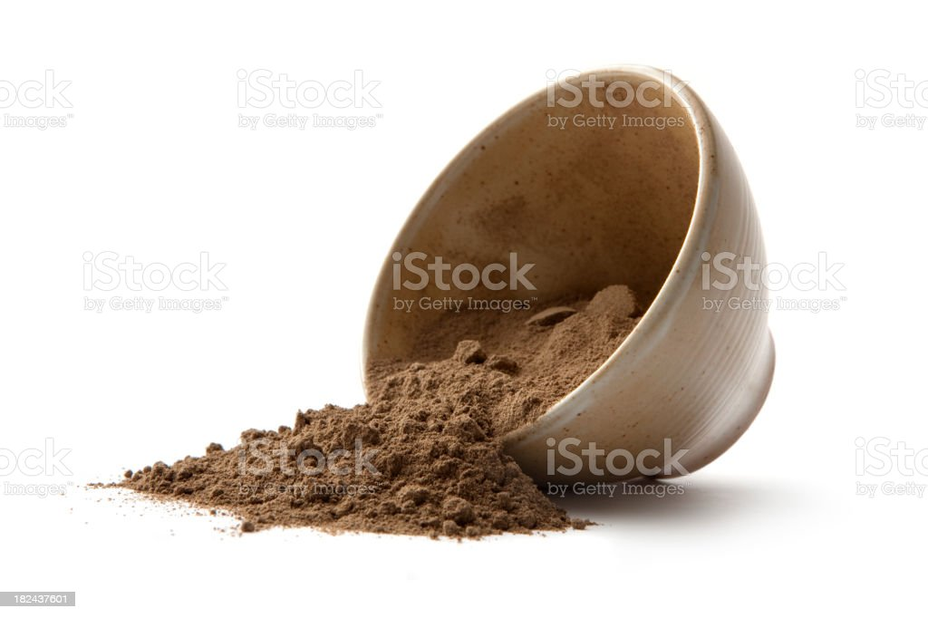 Flavouring: Cacao Powder stock photo