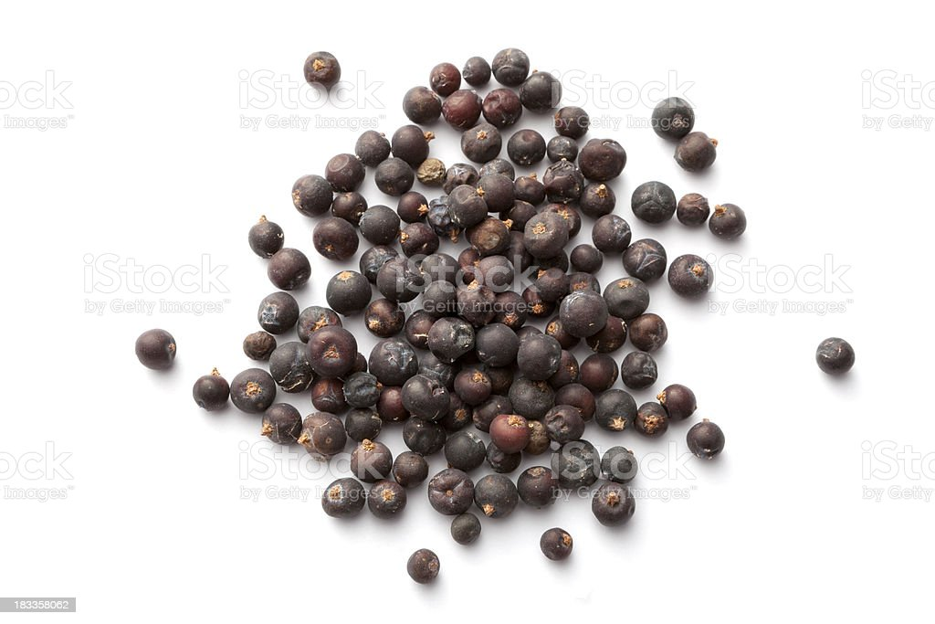 Flavouring: Juniper Berry stock photo