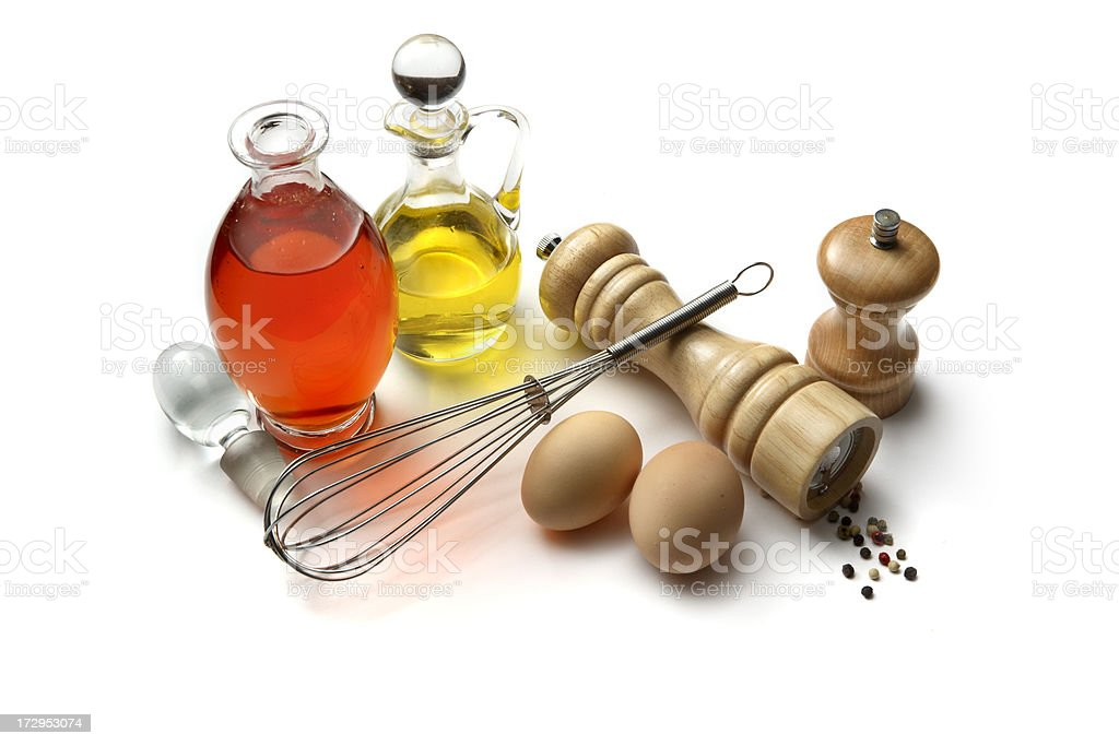 Flavouring: Mayonnaise (Oil, Vinegar, Egg, Mustard, Salt and Pepper) royalty-free stock photo