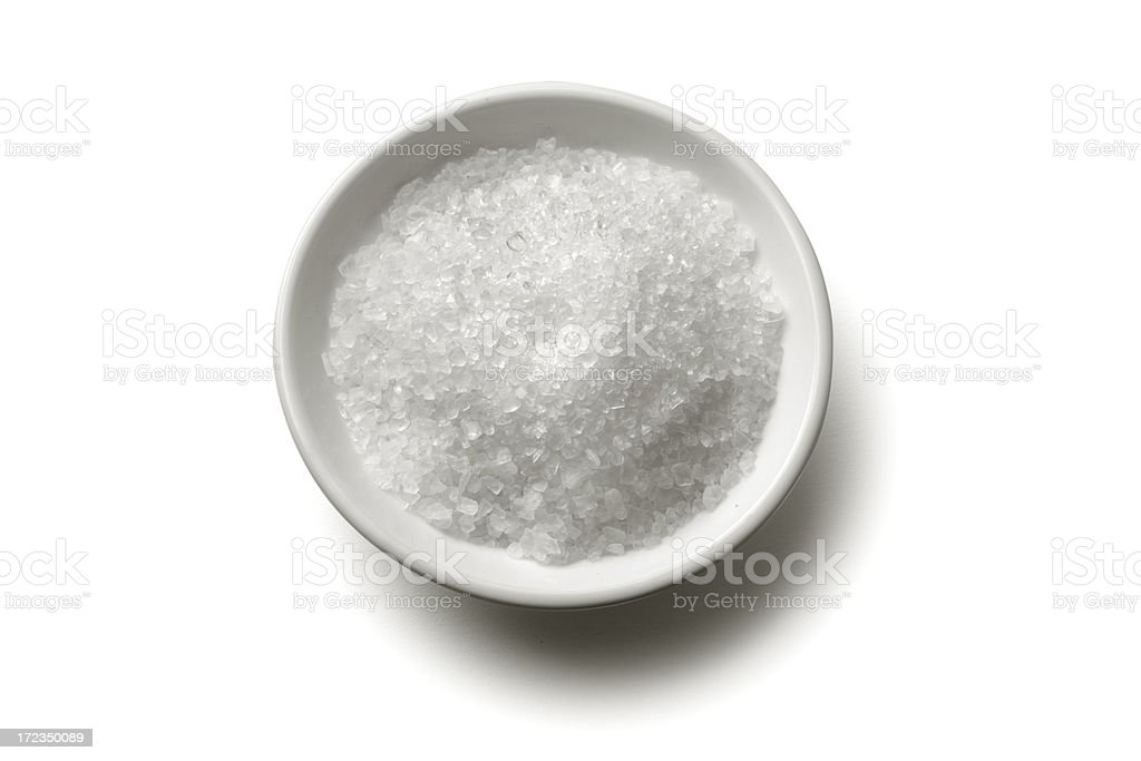 Flavouring: Sea Salt stock photo