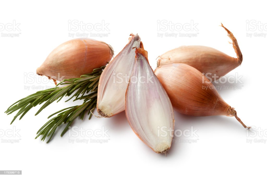 Flavouring: Shallot and Rosemary stock photo