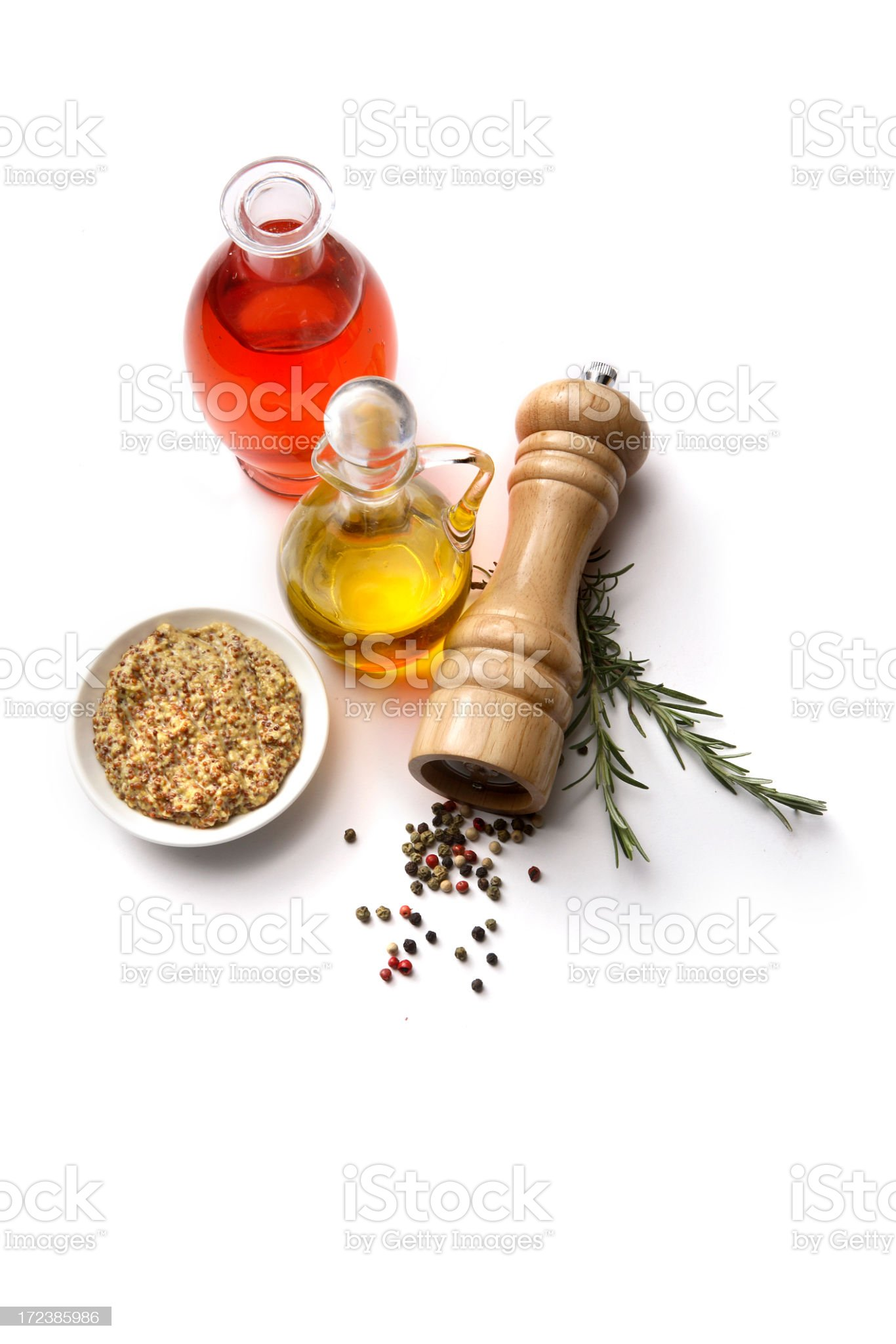 Flavouring: Vinaigrette Dressing royalty-free stock photo