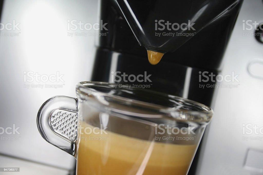 Flavoursome Espresso royalty-free stock photo