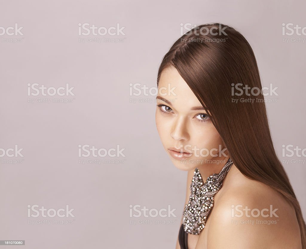 Flawless beauty royalty-free stock photo