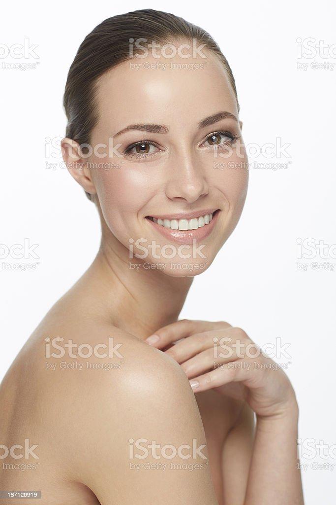 Flawless beauty royalty-free stock photo
