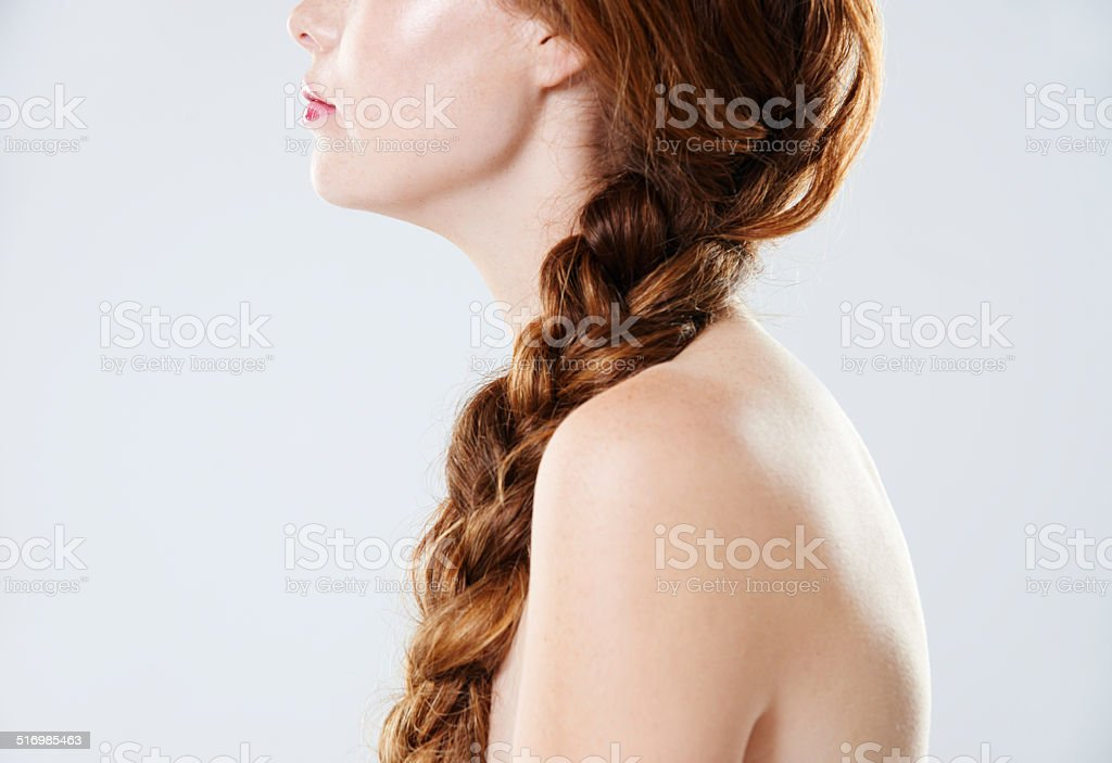 Flawless beauty stock photo