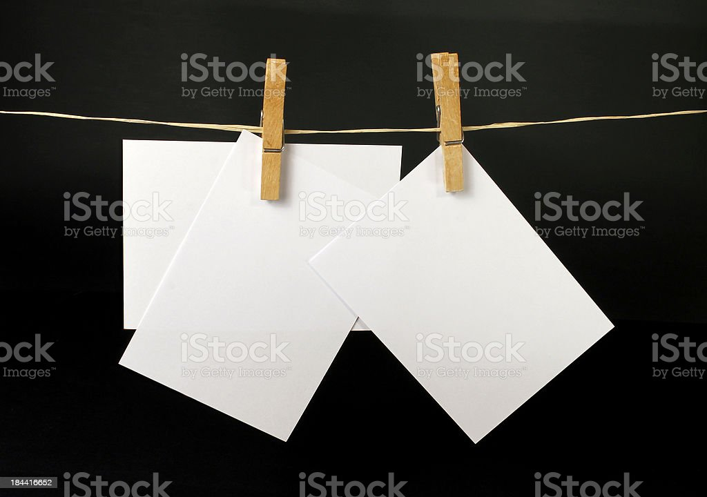 Flawless documents stock photo