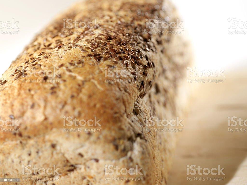 Flax Bread stock photo