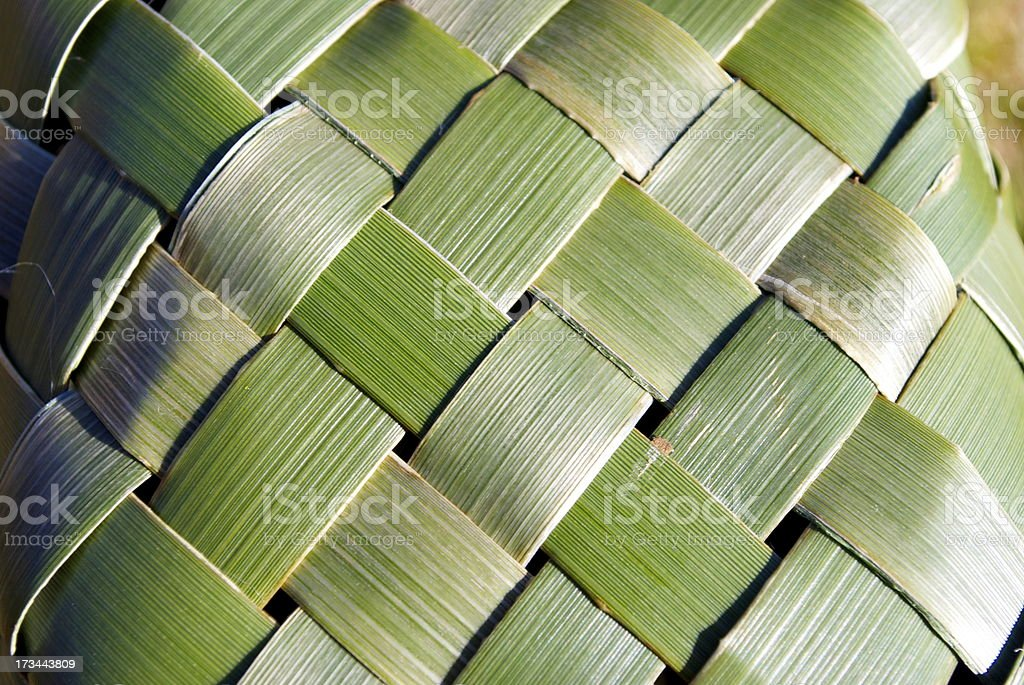 Flax Kete Background stock photo