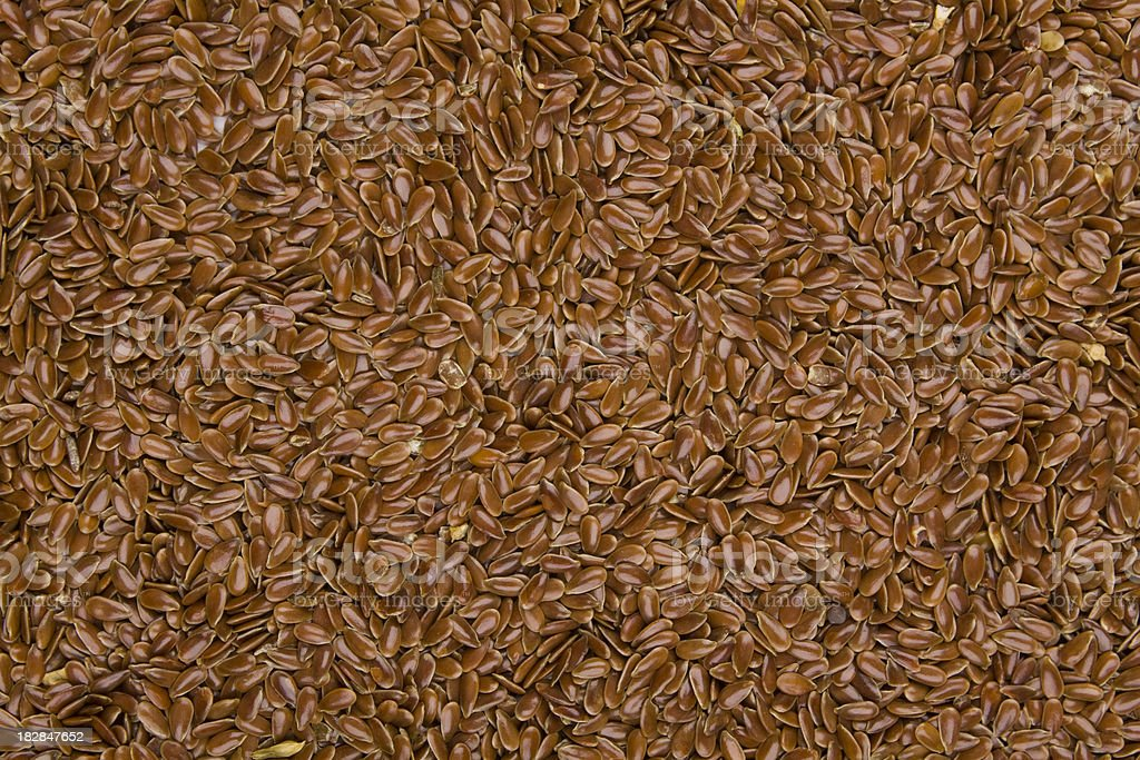 flaxseed (linseed) background royalty-free stock photo