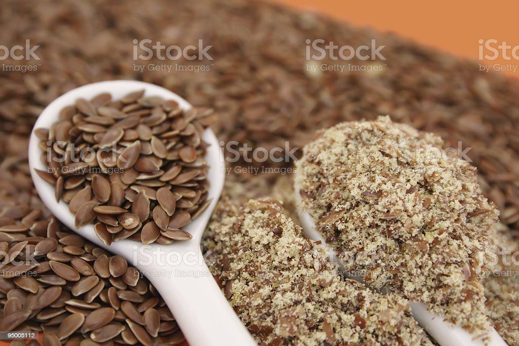 Flaxseed royalty-free stock photo