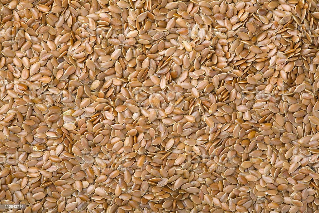 flaxseeds royalty-free stock photo