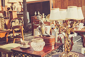 Flea market in Italy