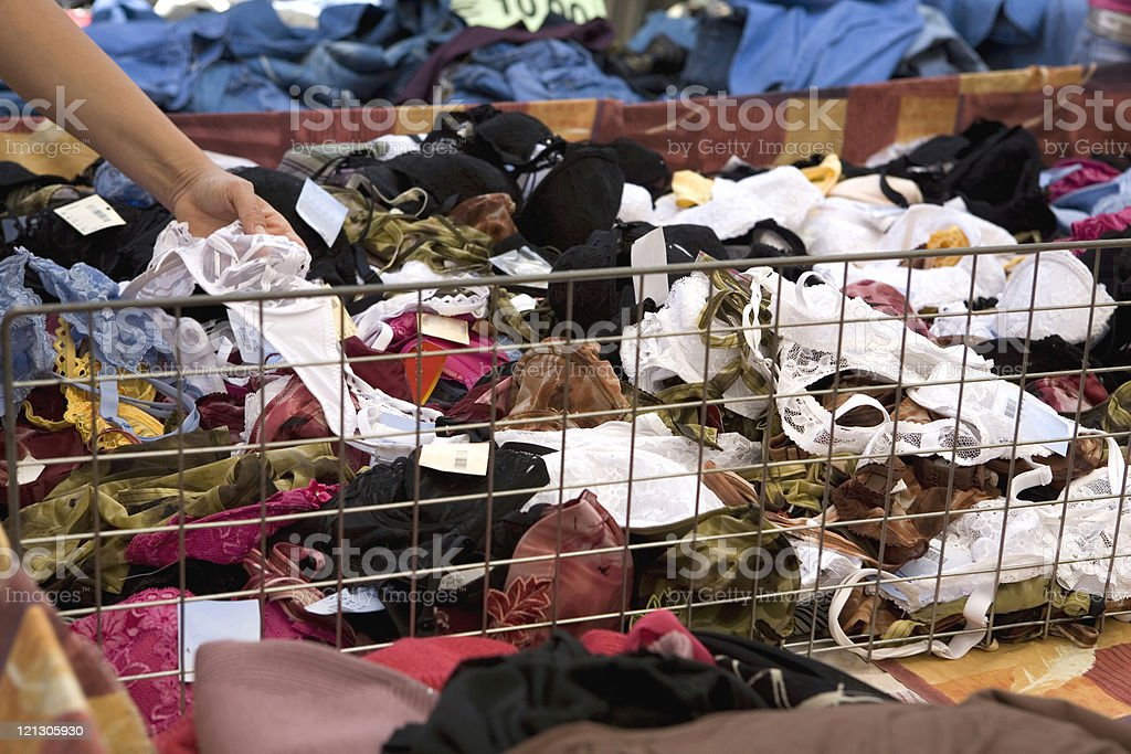 flea market royalty-free stock photo