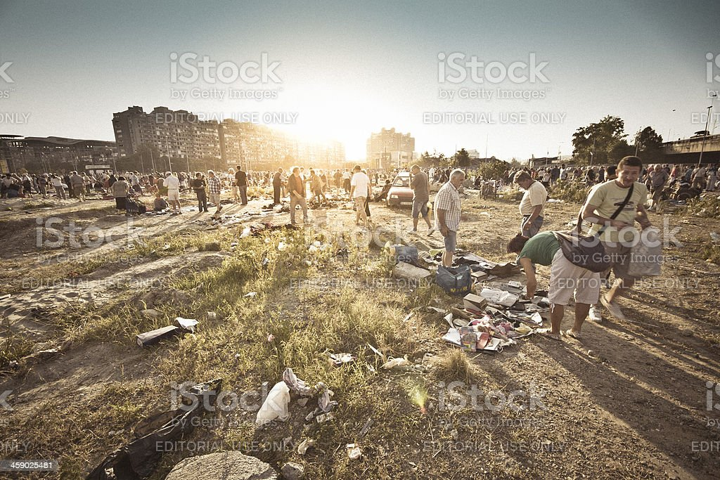 Flea Market royalty-free stock photo