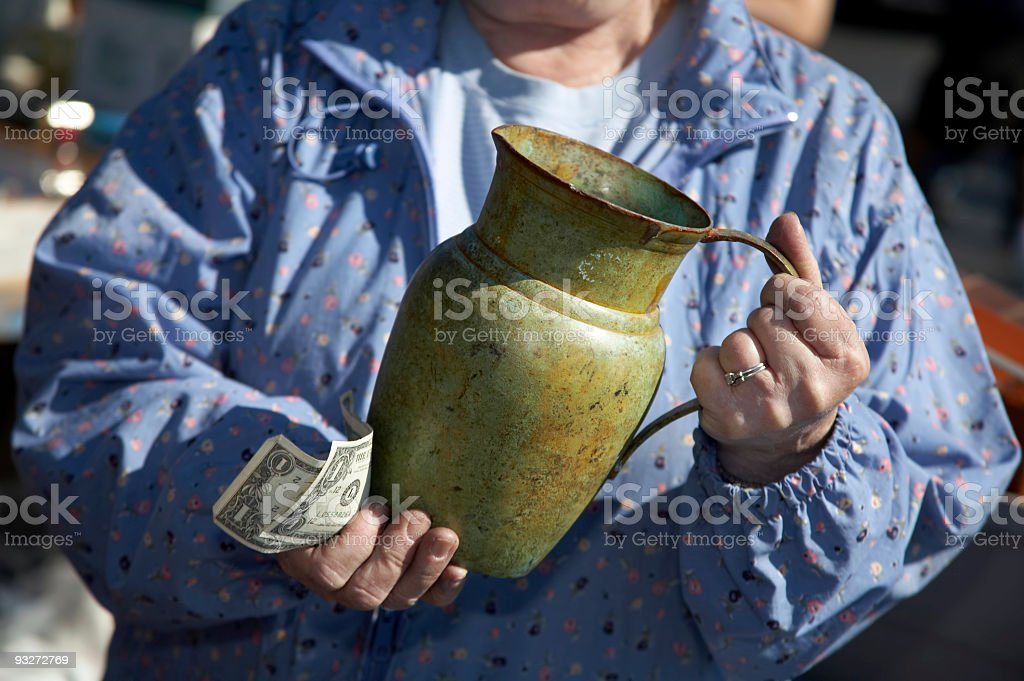 Flea Market Treasures royalty-free stock photo