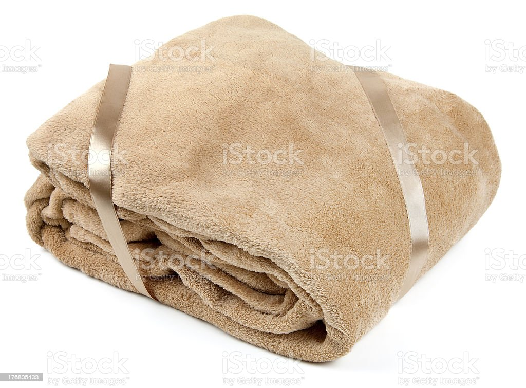 Fleece blanket royalty-free stock photo