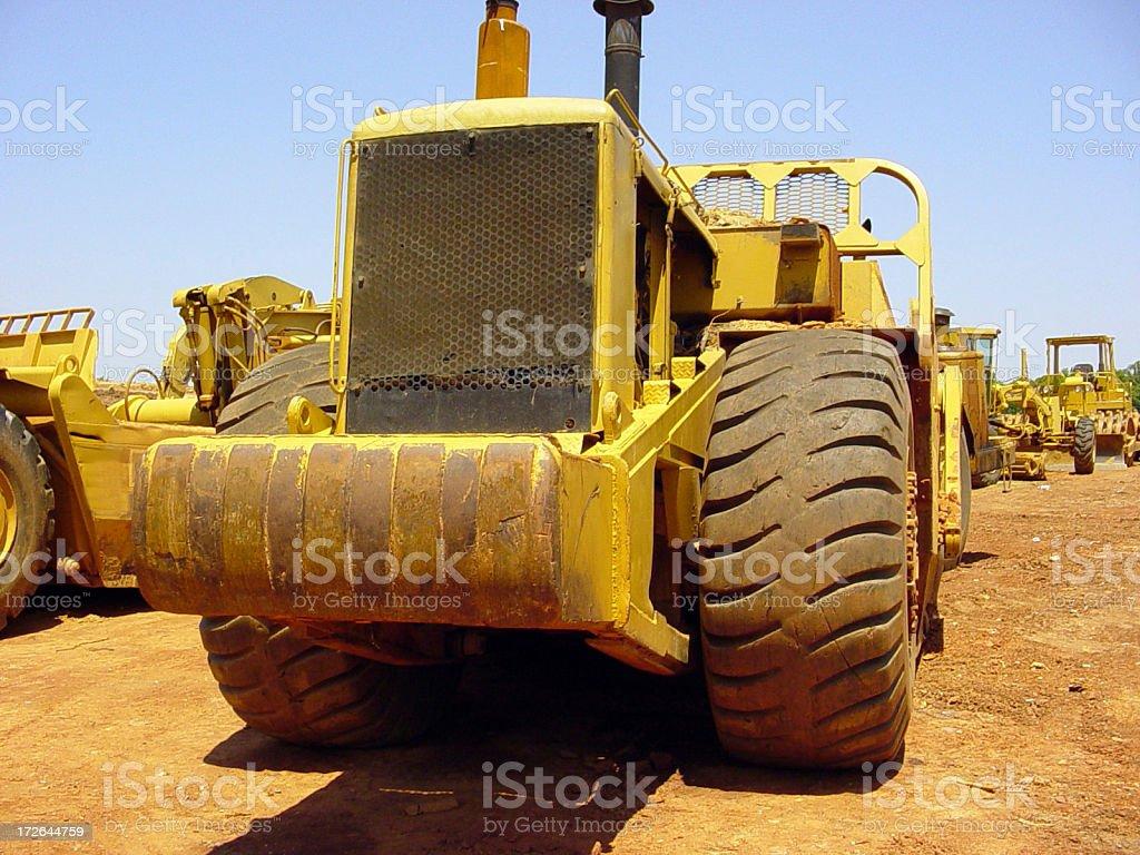 Fleet of Machinery royalty-free stock photo