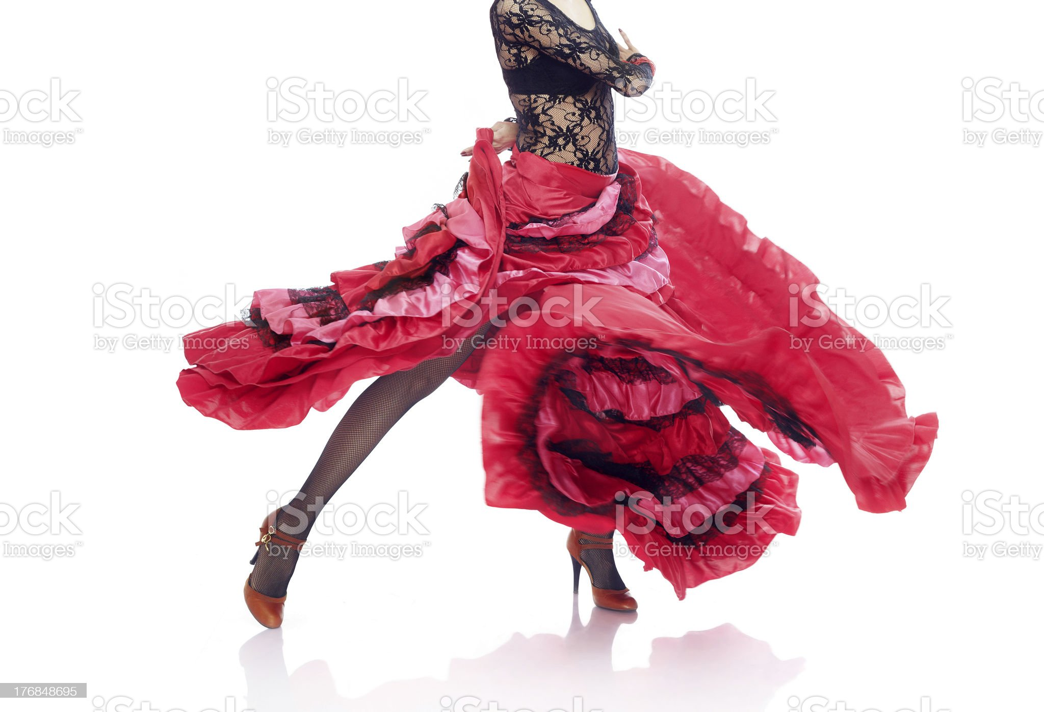 Flamenco royalty-free stock photo