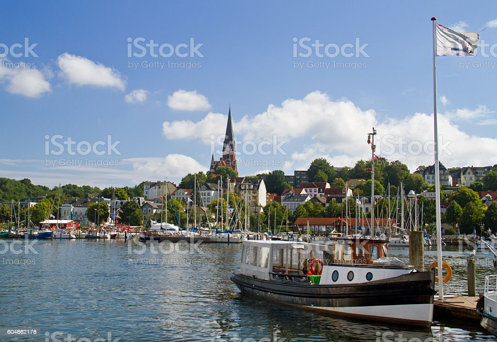 Flensburg stock photo