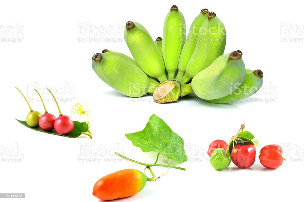 Fleshy fruit stock photo