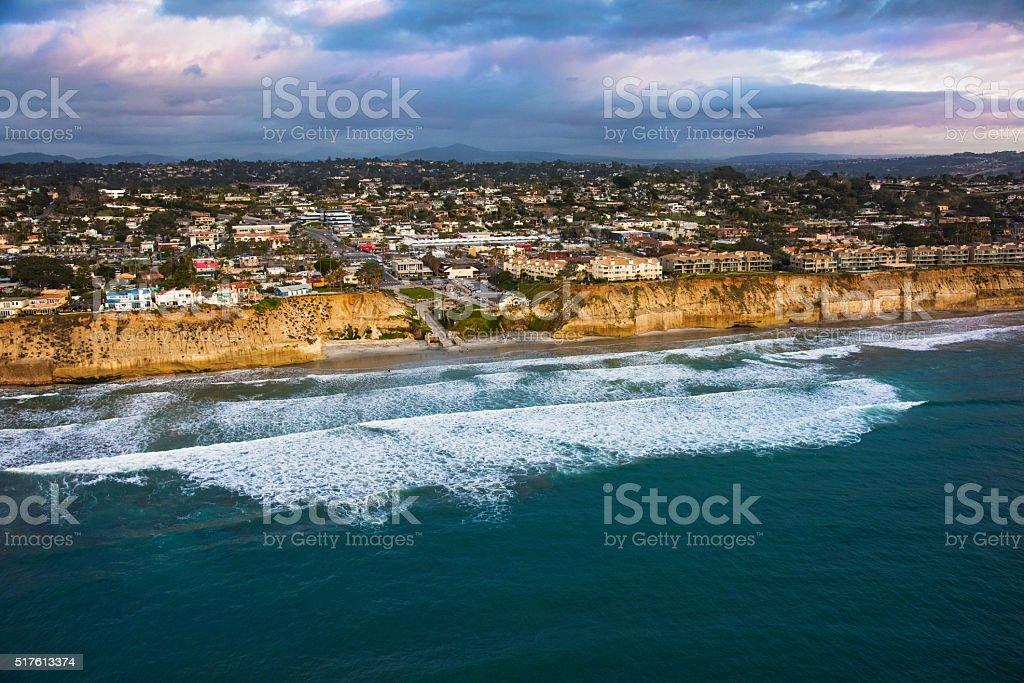Fletcher Cove Solana Beach - San Diego stock photo