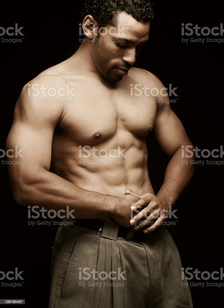 Flex royalty-free stock photo