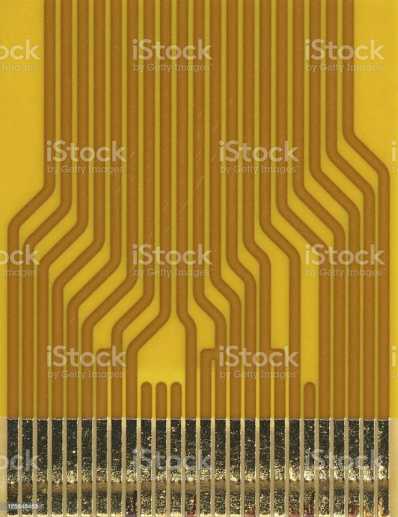 Flexible flat cable royalty-free stock photo