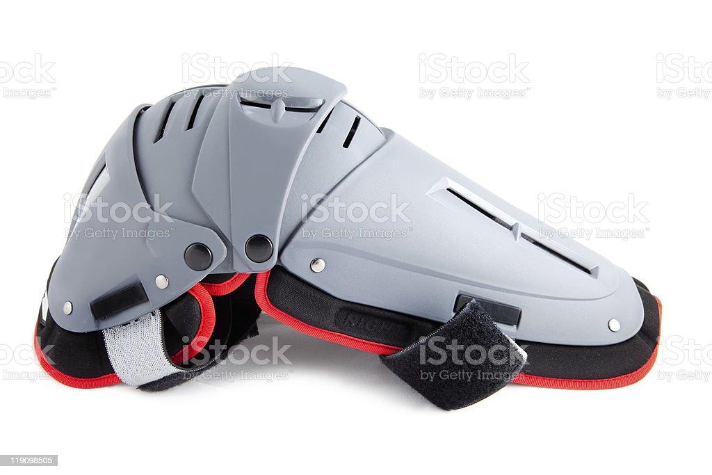 Flexible  Knee Guard - protection Bracer stock photo