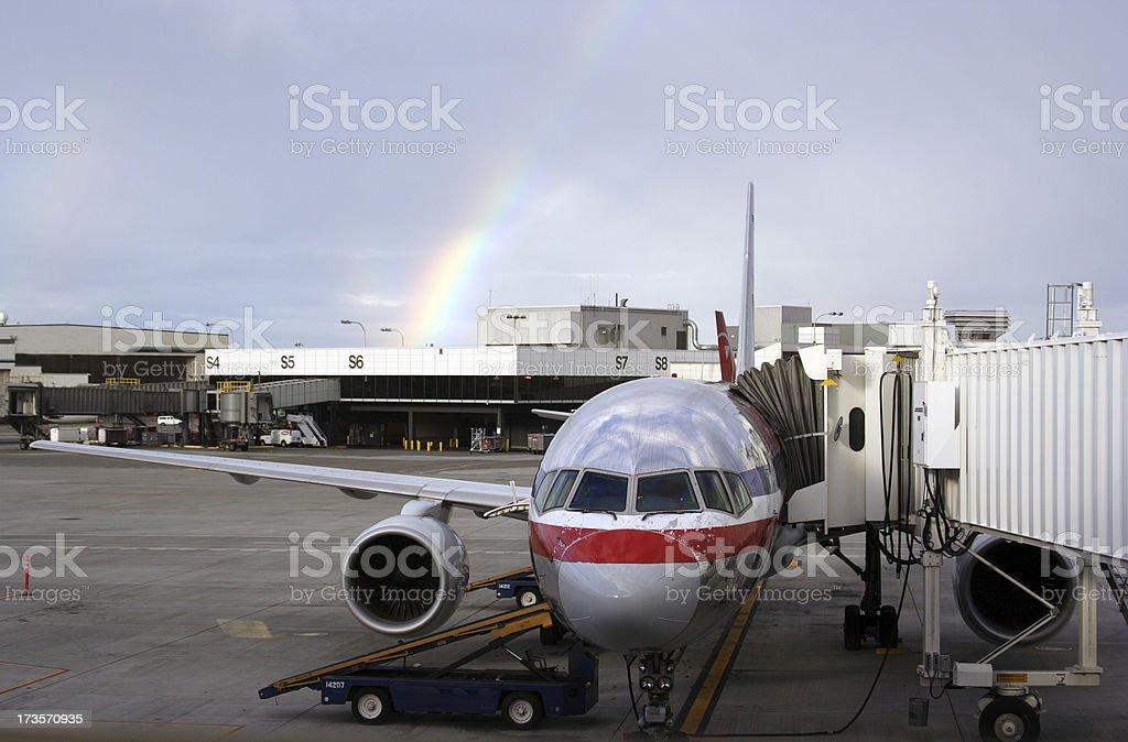 Flight 0001 royalty-free stock photo