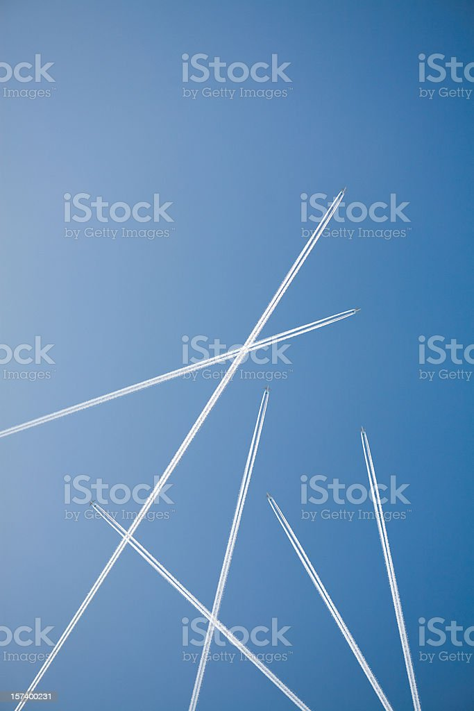 Flight directions royalty-free stock photo