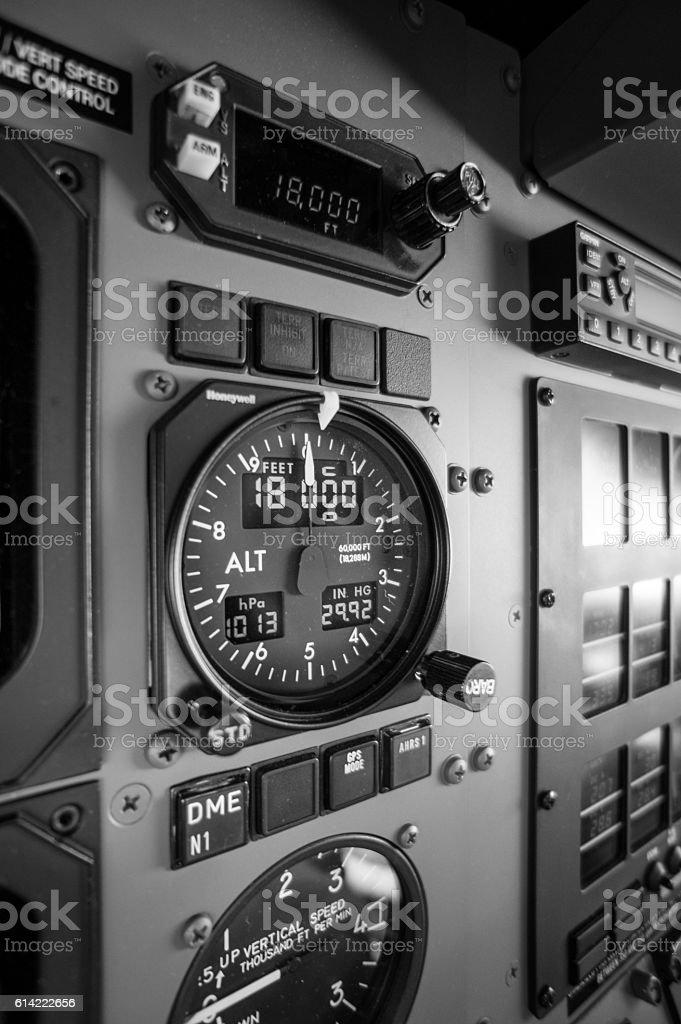 Flight Level 180 stock photo