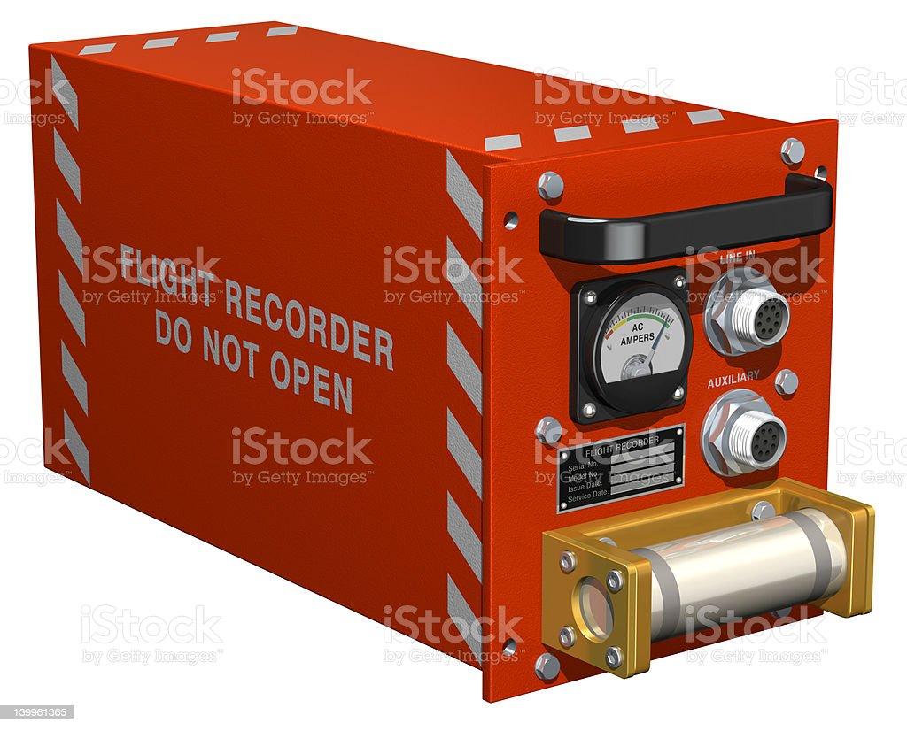 Flight Recorder stock photo