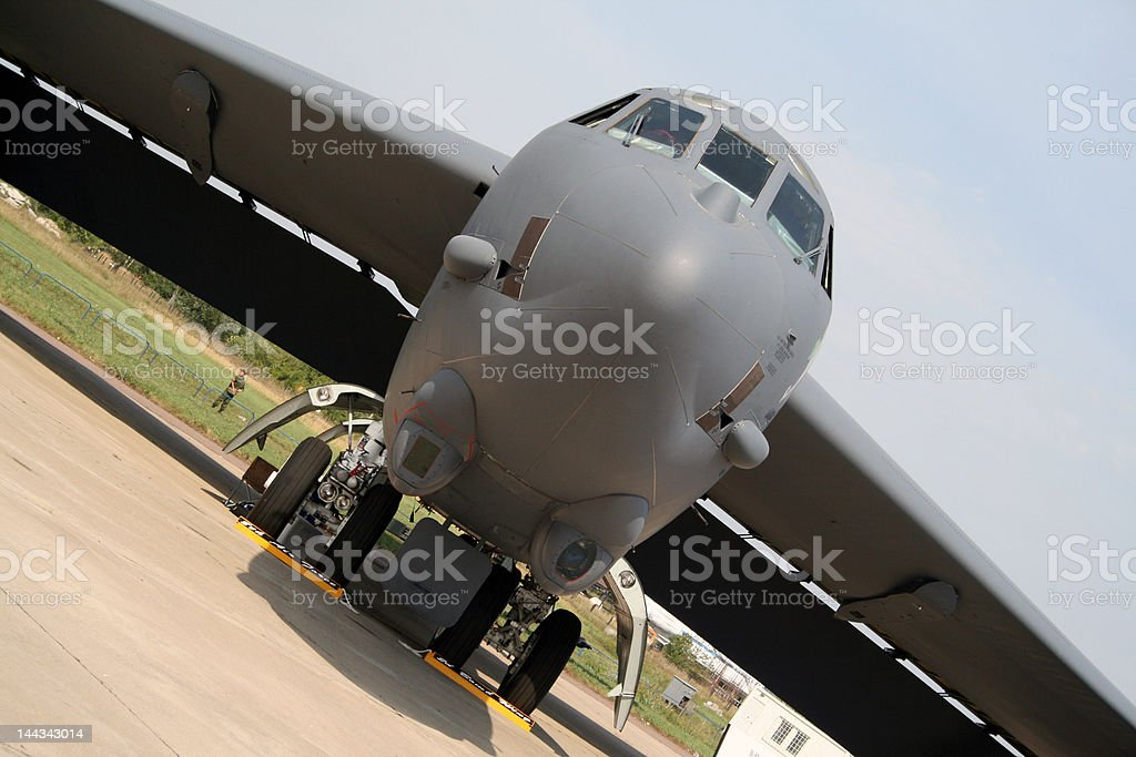 Flights in Zhukovskiy (Russia). Maks-2007 royalty-free stock photo