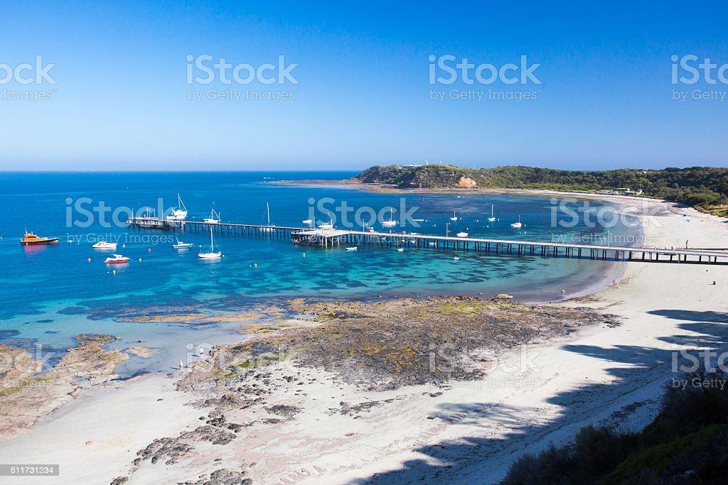 Flinders Back Beach stock photo