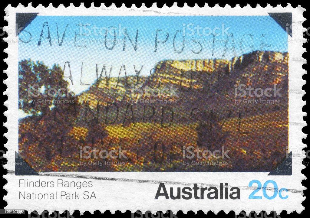 Flinders Ranges royalty-free stock photo