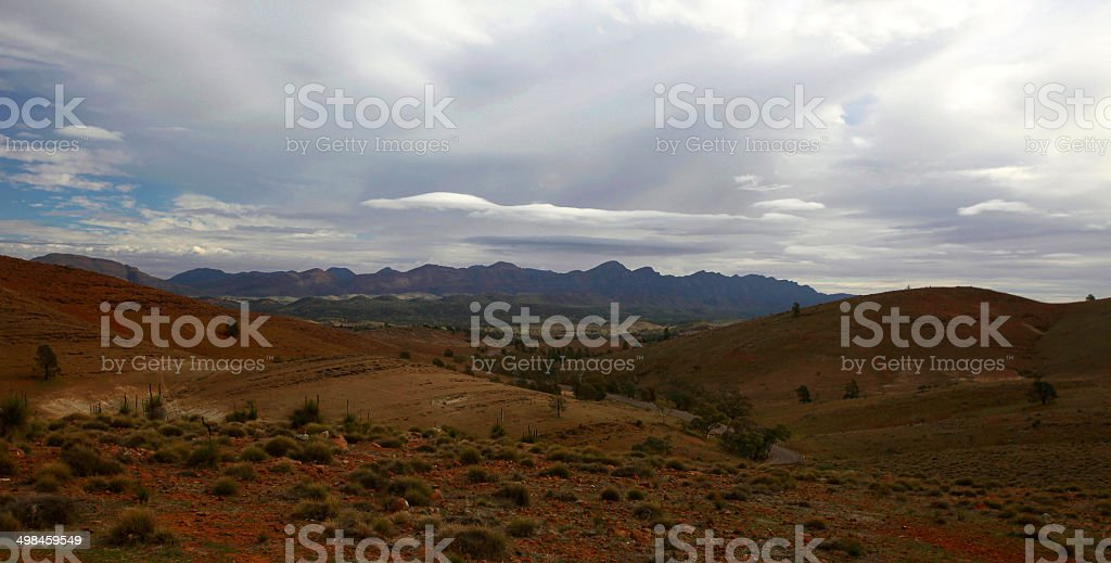 Flinders Ranges, South Australia, Australia royalty-free stock photo