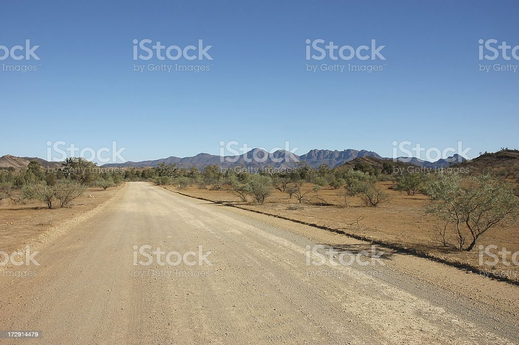 Flinders Ranges, South Australia stock photo