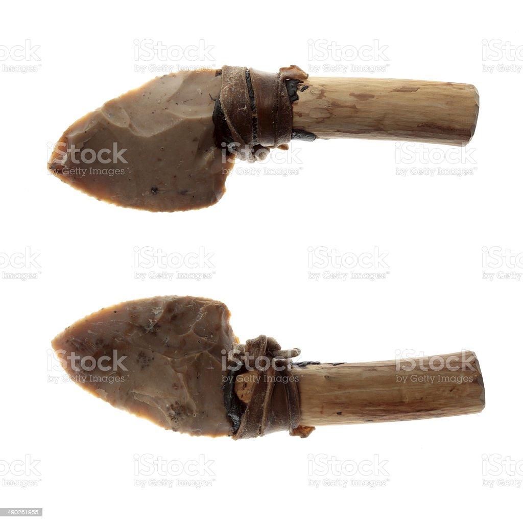 Flint blade stock photo