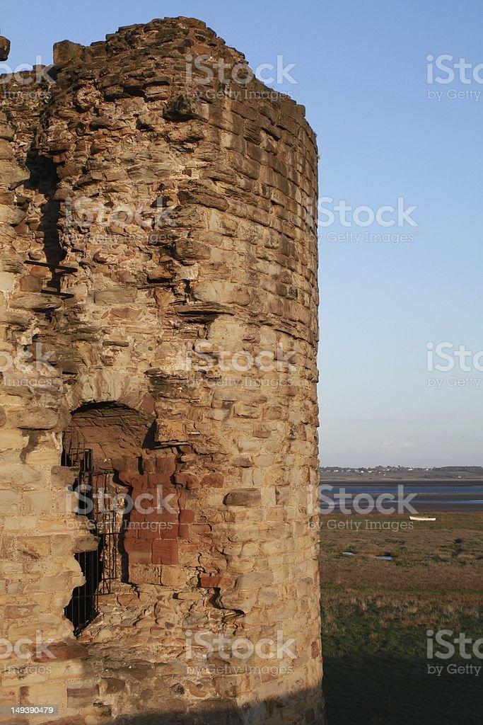 Flint Castle royalty-free stock photo