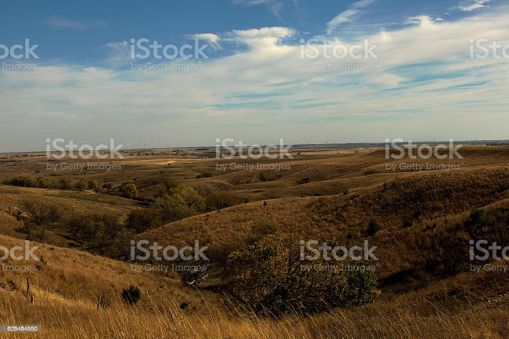 Flint Hills Brown stock photo