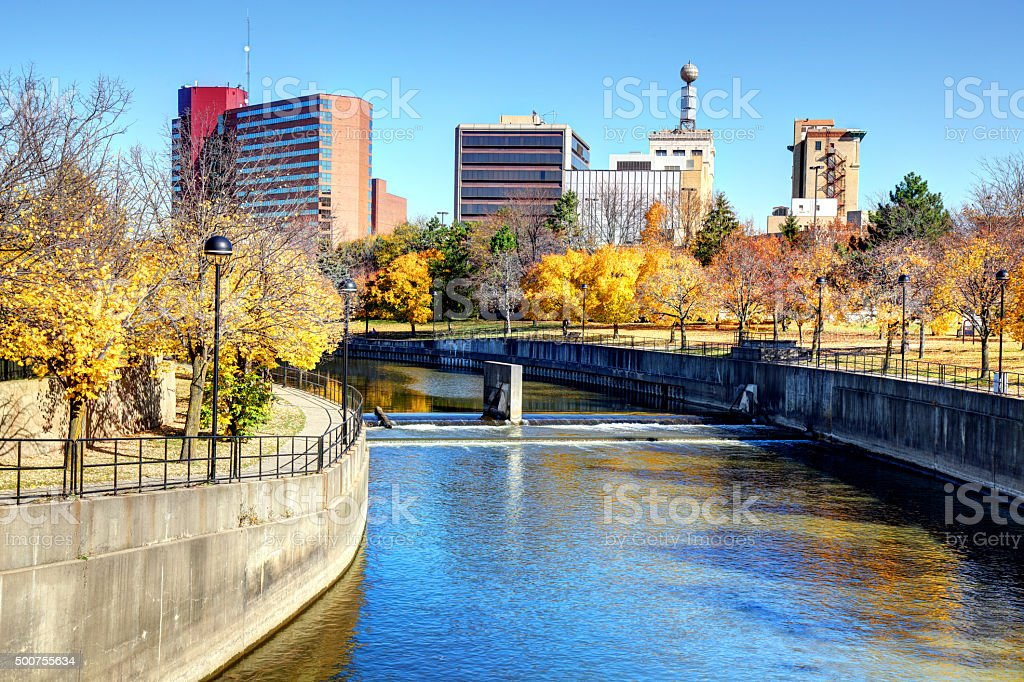 Flint, Michigan stock photo