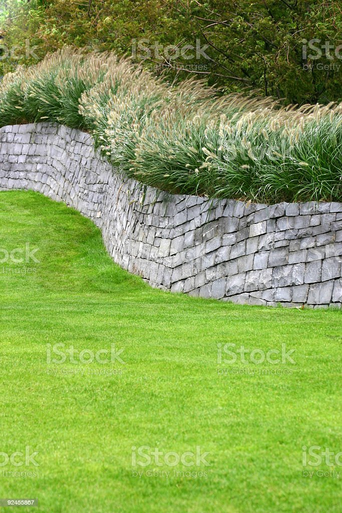 Flint Wall royalty-free stock photo