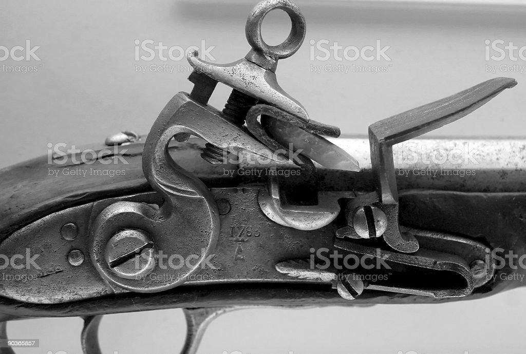 Flintlock pistol royalty-free stock photo