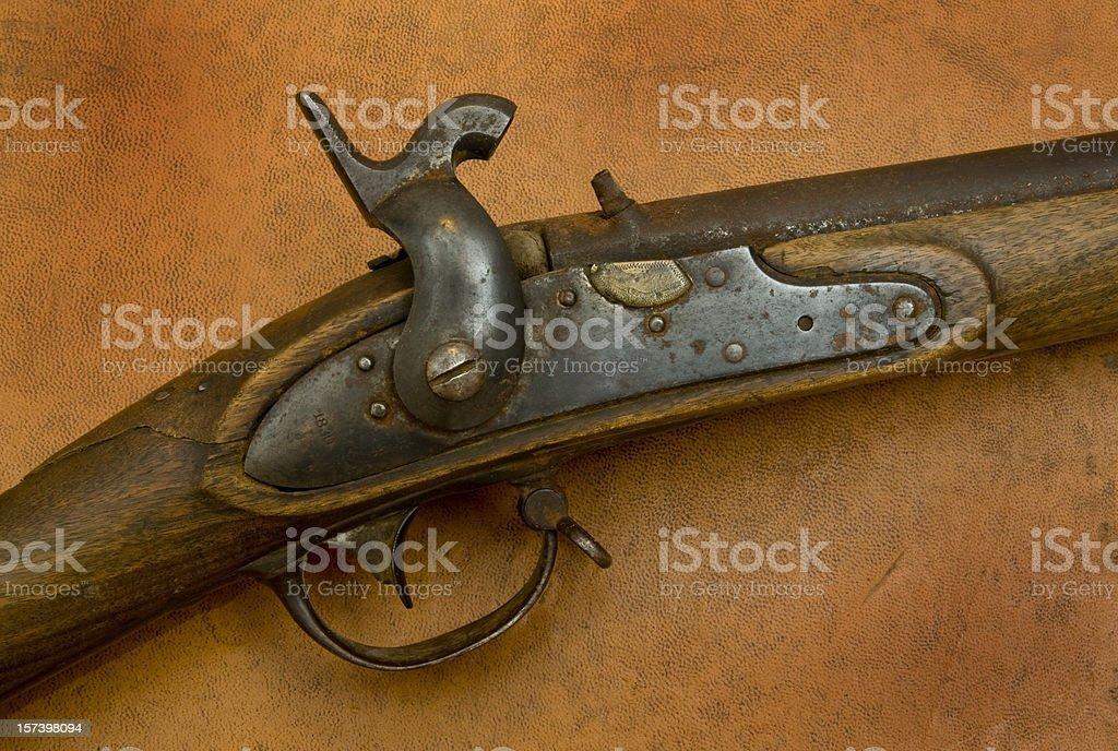 Flintlock Rifle stock photo