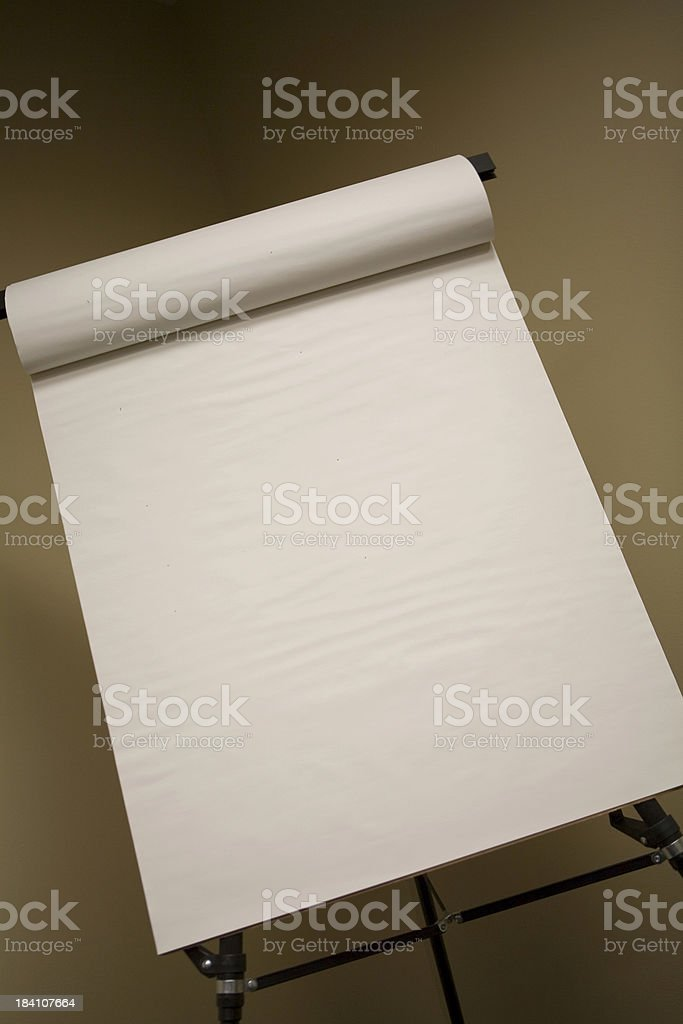 Flip Chart royalty-free stock photo